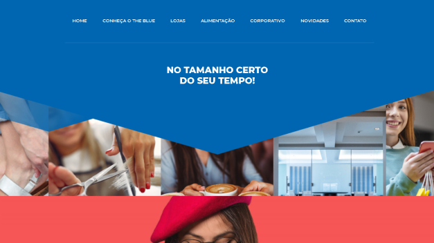 The Blue Shopping Santos | KBR TEC Web & Software